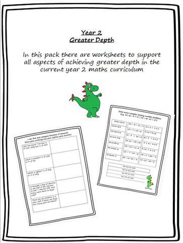 greater depth booklet