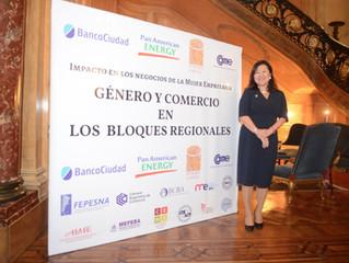 Género y comercio en los Bloques Regionales
