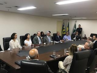 Jornal repercute visita do Embaixador de Luxemburgo em Goiás com presença do IBREI