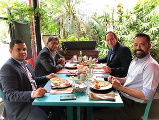 Presidente do IBREI se reúne com novo Embaixador da Índia, Suresh Reddy.