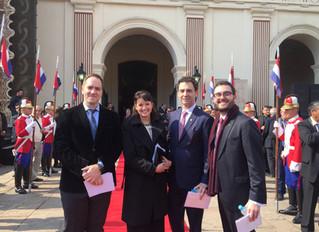 Posse do novo Presidente do Paraguai