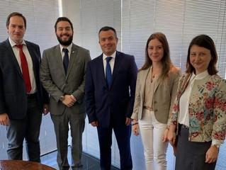 Reunião com Cônsul-Geral da Turquia