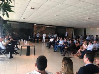 O IBREI participa de reunião com o governo de Minas Gerais e empresários locais
