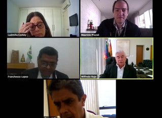 Reunião com Embaixada da Bolívia