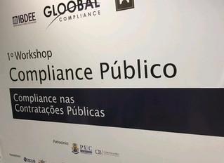 1º Workshop - Compliance Público - Apresentação e Aplicabilidade