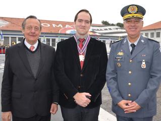 Presidente do IBREI é Condecorado pela Academia de Polícia Militar do Barro Branco