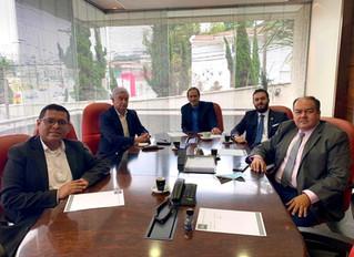 Reunião com o Embaixador da Bolívia
