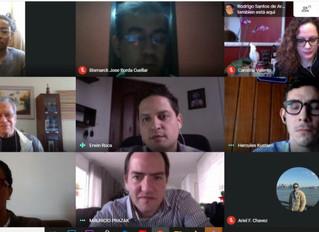 Reunião Bolívia e Minas Gerais