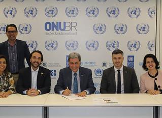 IBREI prestigia solenidade de adesão ao Pacto Global da ONU pelo CREA-GO