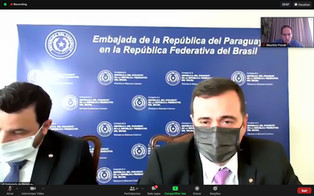 Reunião com Embaixador do Paraguai no Brasil
