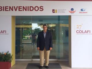 Coordenador Regional participa de Congresso de Fideicomisso na Colômbia