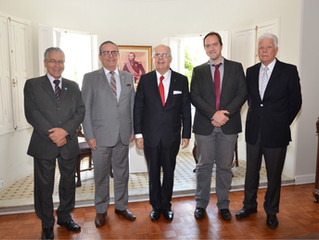 Reunião no Consulado Geral do Paraguai em Curitiba