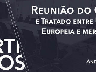 Reunião do G20 e Tratado entre UE-MS
