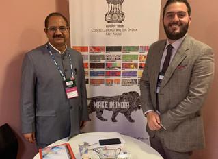 Reunião sobre Índia na ABCasa Fair
