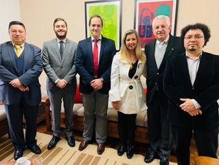 Reunião com o Consulado Geral do México de São Paulo