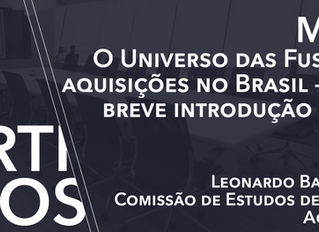 M&A: O Universo das Fusões e Aquisições no Brasil – uma breve introdução geral