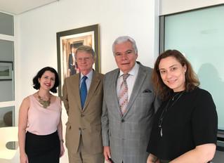 Comitiva de Goiás dá as boas vindas ao novo embaixador da Holanda no Brasil