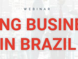 WEBINAR - DOING BUSINESSIN BRAZIL