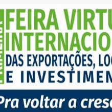 """1ª. Feira Internacional Virtual de Exportação, Logística e Investimentos 2020 """"voltar a crescer"""""""