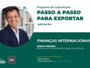 Trilha de Internacionalização e Programa de Capacitação para Exportação - Finanças Internacionais