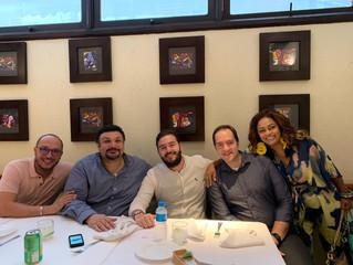 IBREI participa do almoço de despedida ao Cônsul-Geral do Egito Mohamed Elkhatib