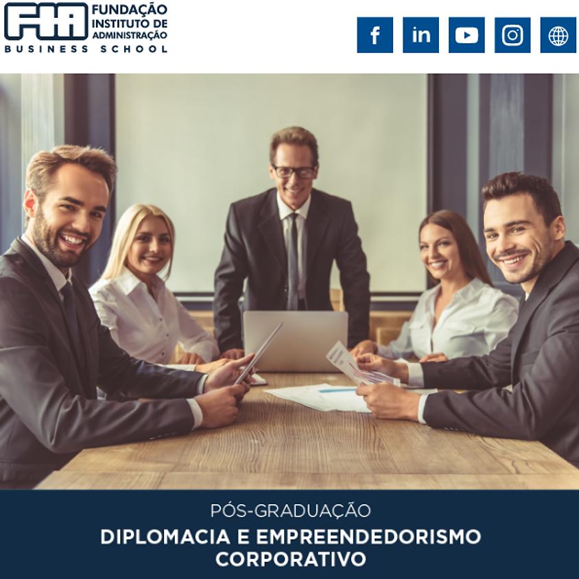 Pós Graduação – Diplomacia e Empreendedorismo Coorporativo