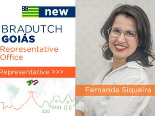 Fernanda Siqueiraé designada representanteda Bradutch em Goiás