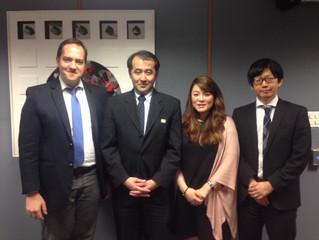 Reunião com Cônsul-Geral do Japão