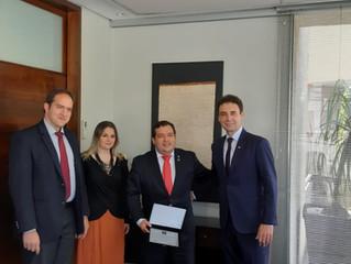 Delegação do Governo do Paraguai no IBREI