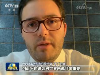 Entrevista a CCTV13 da China