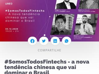 #SomosTodosFintechs - a nova tendência chinesa que vai dominar o Brasil