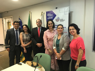Diretoria Regional Goiás participa de capacitação em barreiras comerciais na FIEG