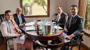 Almoço com Cônsul-Geral do Paraguai
