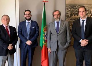 Reunião com Cônsul Geral de Portugal