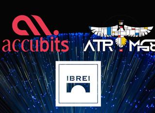 Parceria IBREI + ACCUBITS + ATROMG8