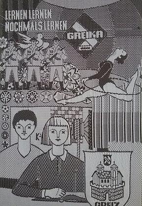 DDR - Greika - Seidenbild