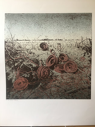 Jens Cords Grafik Felgen