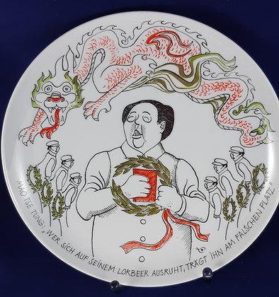 Rosenthal Satire Teller Mao Tse Tung