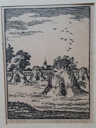 Richard Grimm-Sachsenberg Handdruck