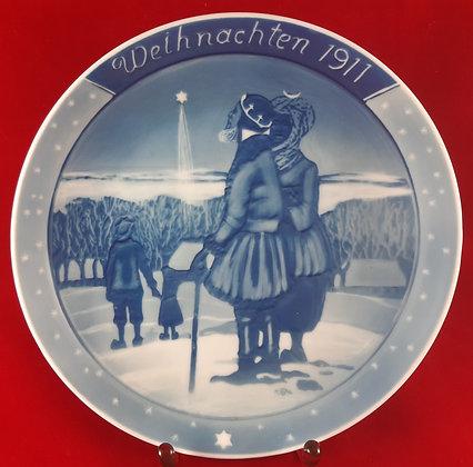 ROSENTHAL Weihnachten 1911 - christmas plate