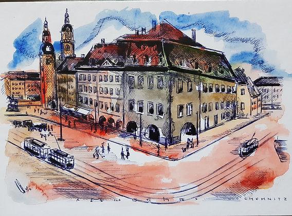 Musche, Ulrich - Chemnitz Zeichnung