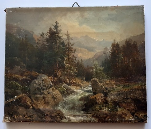 Mühlig, Bernhard - Eibenstock - Gemälde