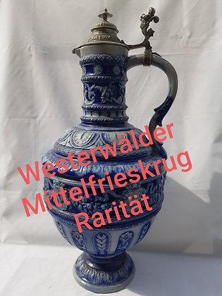 Westerwälder Mittelfrieskrug - Bacchus,50cm