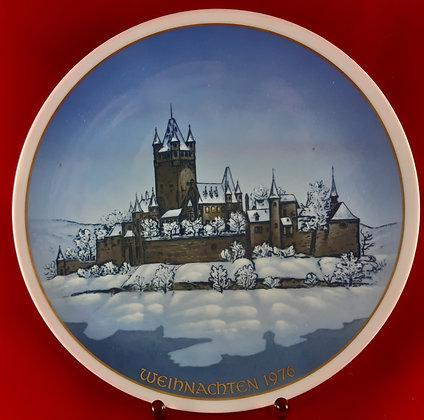 ROSENTHAL Weihnachten 1976 - christmas plate