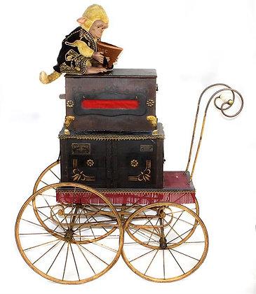 Drehorgel Leierkasten um 1890 Antik