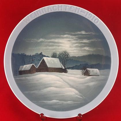 ROSENTHAL Weihnachten 1910 christmas plate
