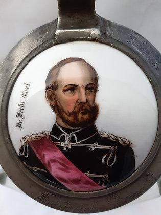 Krug Thüringer Hof Löbschütz - Friedrich Karl v. Preussen