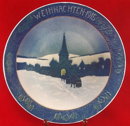 ROSENTHAL Weihnachten 1915 - christmas plate
