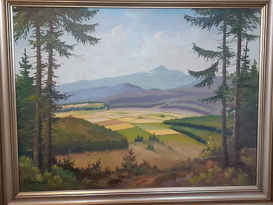 Schmidt. K. - Erzgebirge Landschaft
