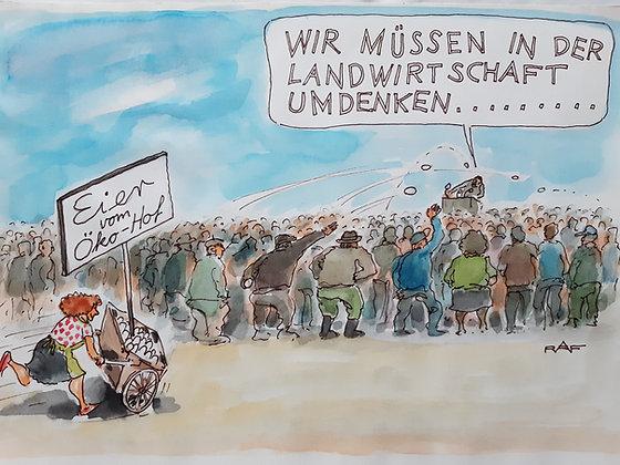 Ralf Alex Fichtner / RAF / Zeichnung